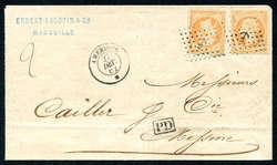 2565: Frankreich - Briefe Posten