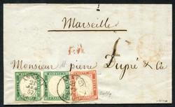 3395: Italien Staaten Sardinien - Briefe Posten