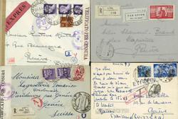 3395: États d'Italie Sardaigne - Covers bulk lot