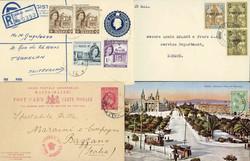 7140: Sammlungen und Posten Britisch Commonwealth allgemein - Ganzsachen