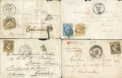 2565: France - Covers bulk lot