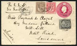 4410: Mauritius - Postal stationery