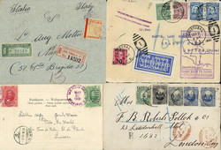 7365: Collections and Lots America - Postal stationery