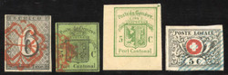 5655080: Switzerland Transitional Period Waadt, Neuenburg, Winterthur - Collections