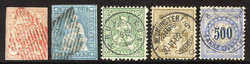5655093: Switzerland Rayon - Postage due stamps