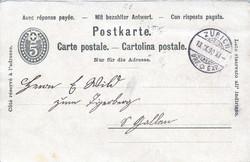 5655059: Canton Glarus - Postal stationery
