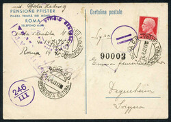 7161: Collections and Lots Italy and Areas - Picture postcards