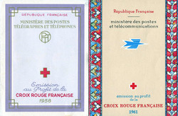 2565: Frankreich - Stamp booklets
