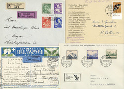 214040: Postgeschichte, Tag der Briefmarke, International nach 1945