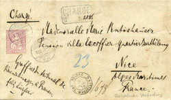 5655146: Switzerland sitting Helvetia perforated - Postal stationery