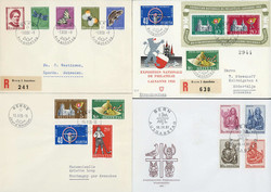 7650: Collections and Lots  Topics - Souvenir / miniature sheetlets