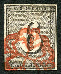 5640: Switzerland cantonal Zuerich - Cancellations and seals