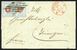 5655119: Rayon I, hellblau, ohne KE (STEIN C2) - Dienstmarken
