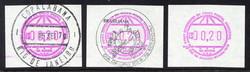 1935: Brazil - ATM/Frama labels