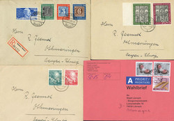 1420: German Federal Republic - Bulk lot