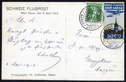 5659105: Switzerland - Pioneer Airmail (PF) - Picture postcards