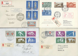 5657: Switzerland Pro Patria - Covers bulk lot