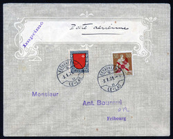 5655057: Canton Freiburg - Airmail stamps
