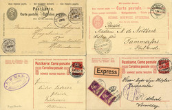 5655148: Switzerland numeric pattern - Postal stationery