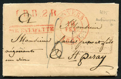 1810: Belgium - Cancellations and seals