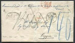 3358: Italia Pre Philately - Covers bulk lot