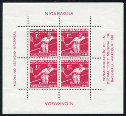 4590: Nicaragua - Bulk lot