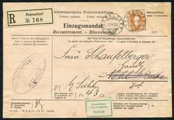 190260: Switzerland, Canton Zurich - Covers bulk lot