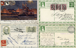 5657: Switzerland Pro Patria - Postal stationery