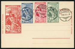 5710: Switzerland World Post Union UPU - Postal stationery