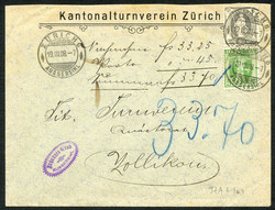 5655147: Switzerland standing Helvetia - Postal stationery