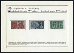 5657: Switzerland Pro Patria - Cancellations and seals