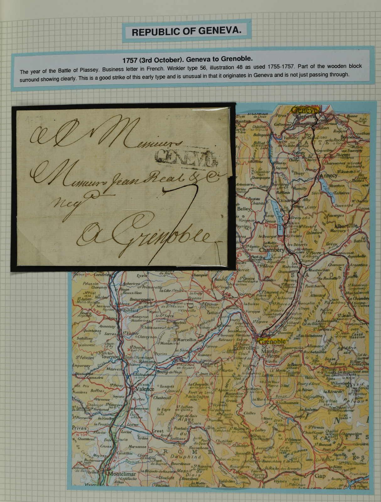 Lot 239 - schweiz kanton genf -  Schwarzenbach Auktion Zurich 67th Auction - Session II