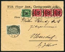 144: Fieldpost World War I - Covers bulk lot