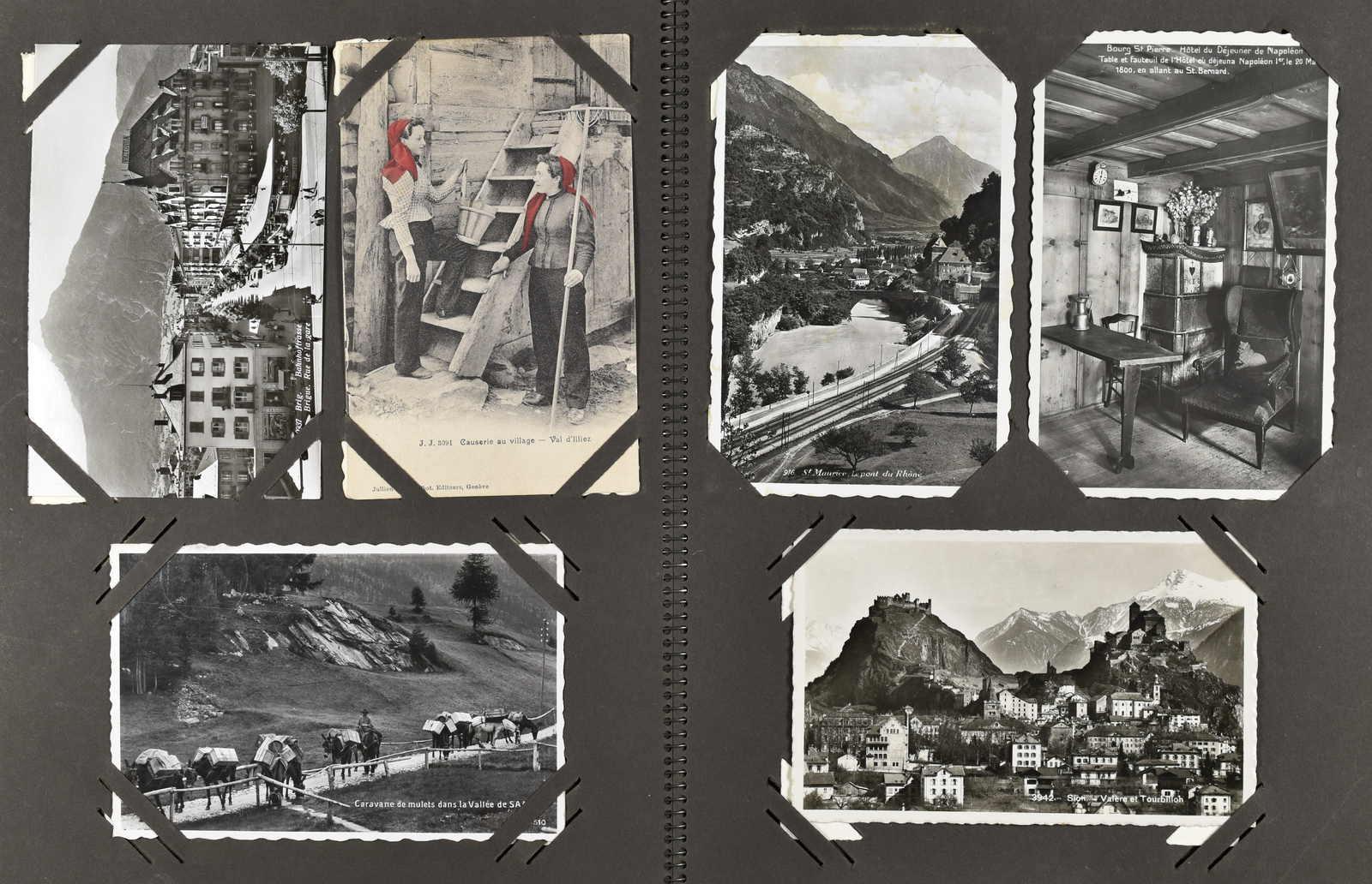 Lot 242 - schweiz kanton wallis -  Schwarzenbach Auktion Zurich 67th Auction - Session II