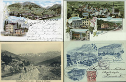 2040: Picture Postcards, Special Cards
