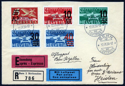 5655051: Canton Bern - Airmail stamps