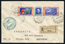 3415: Italy - Airmail stamps
