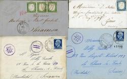 7161: Collections et post Italie avec zones - Picture postcards