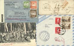 1715: Argentinien - Covers bulk lot