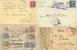 258: Deutsche Marine Schiffspost - Postkarten
