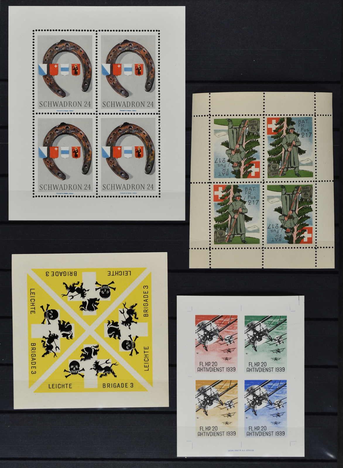 Lot 228 - schweiz Schweiz Soldatenmarken -  Schwarzenbach Auktion Zurich 67th Auction - Session II