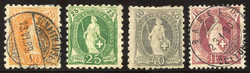 5655147: Switzerland standing Helvetia - Bulk lot