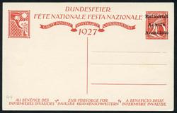 5657: Switzerland Pro Patria - Postal stationery