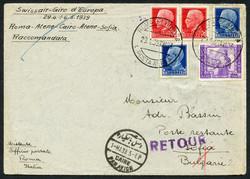 3415: Italien - Flugpostmarken