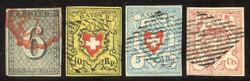 5640: Switzerland Canton Zuerich - Bulk lot