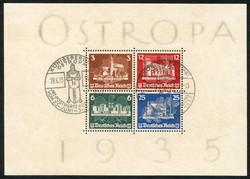 7080: Collections and Lots  Europe - Souvenir / miniature sheetlets