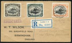 7140: Sammlungen und Posten Britisch Commonwealth allgemein - Briefe Posten