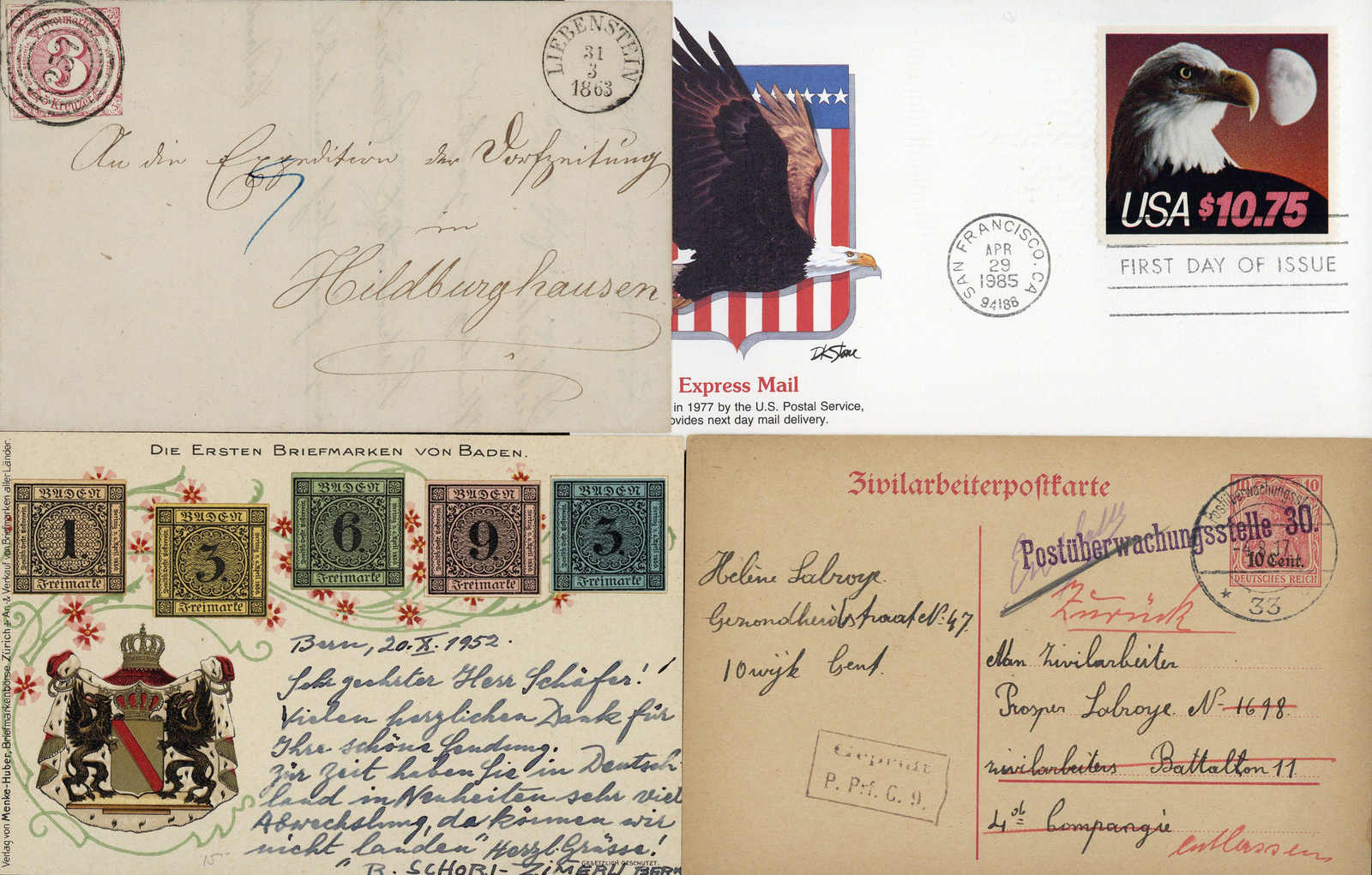 Lot 509 - sammlungen und posten sammlungen und posten deutschland -  Schwarzenbach Auktion Zurich 67th Auction - Session II