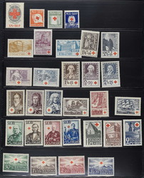 7094: Collections and Lots Scandinavia - Bulk lot