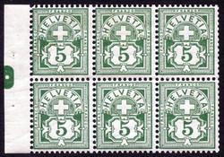 5655148: Switzerland numeric pattern - Booklet panes